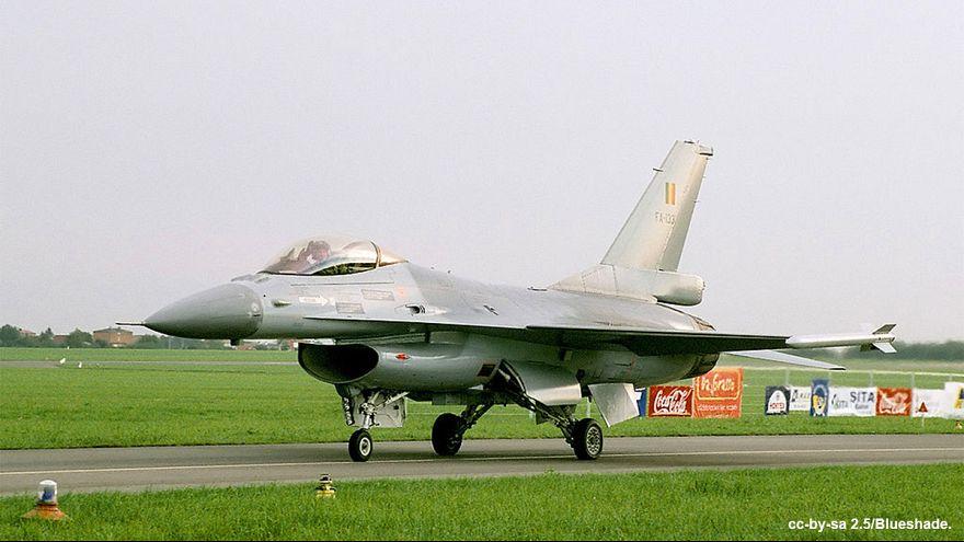 Belçika F16'ları ilk kez Suriye'de