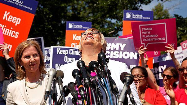 Usa, Corte Suprema boccia legge del Texas sull'aborto