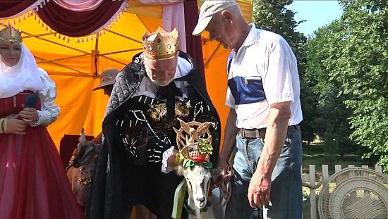 Un concours de beauté pour chèvres en Lituanie