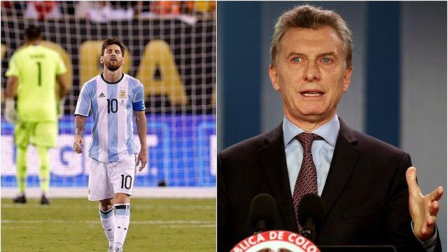 Le président argentin supplie Lionel Messi de rester