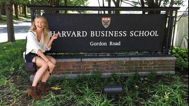 Suspendue pour deux ans, Maria Sharapova va suivre des cours à Havard
