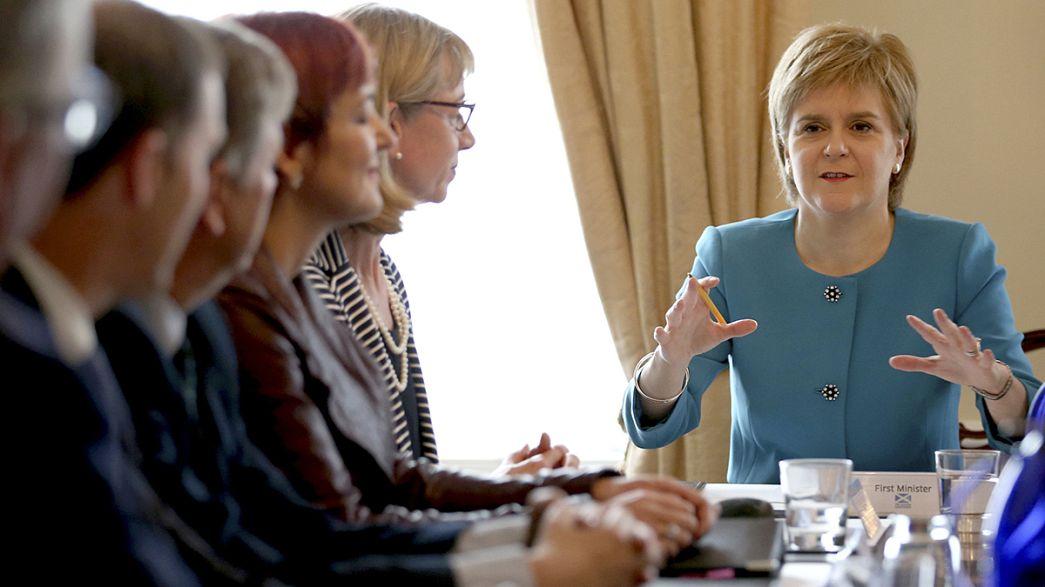 """""""Brexit İskoçya'yı yeni bir bağımsızlık referandumuna götürebilir"""""""