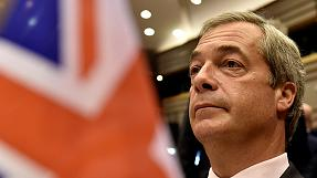 Feisty Farage tells MEPs 'You're not laughing now'