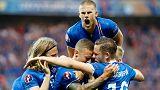 يورو2016: البركان الايسلندي يصنع الحدث