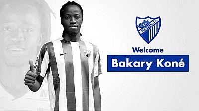 Transfert: le burkinabè Bakary Koné signe à Malaga