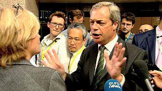 Nigel Farage: 'AB bitti'