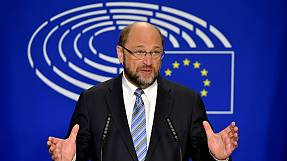 Schulz urges UK to make a speedy EU exit