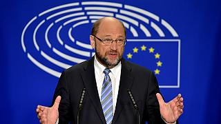 """""""Nunca vivi uma atmosfera semelhante"""": Martin Schulz"""
