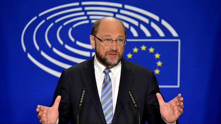 "EU-Parlamentspräsident Schulz: ""Fundamentale Zäsur"""