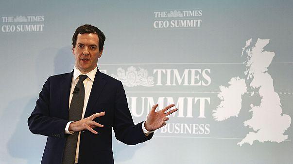 Osborne avanza más austeridad e impuestos para los británicos, el día que en las bolsas se calman