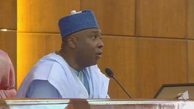 Le président du Sénat nigérian et ses co-accusés libérés sous caution