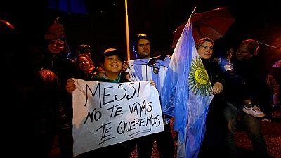 Retraite internationale de Messi : réactions des fans argentins