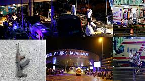 Gun shots and two explosions hit Istanbul's Ataturk Airport, multiple injuries