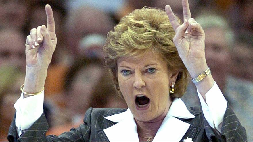 US college basketball loses coaching legend: Pat Summitt dies, aged 64