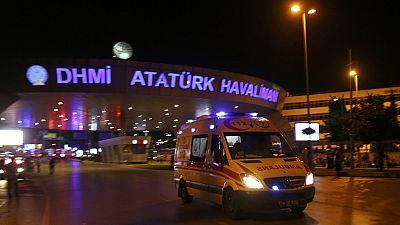 Dozens killed, several injured in twin blasts at Turkey's Ataturk airport