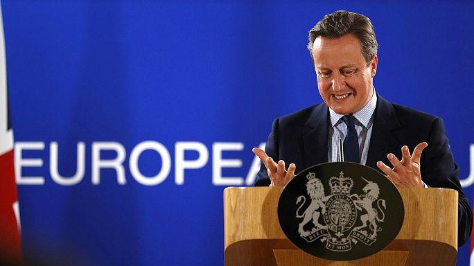 Cameron szomorú, és utódjára bízná a romeltakarítást
