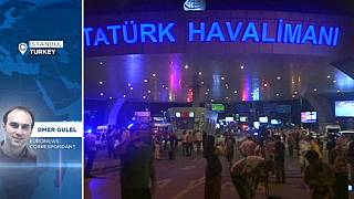 Stranded on plane during Istanbul terror attacks - euronews journalist reports