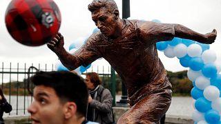 Une statue de Lionnel Messi dévoilée à Buenos Aires