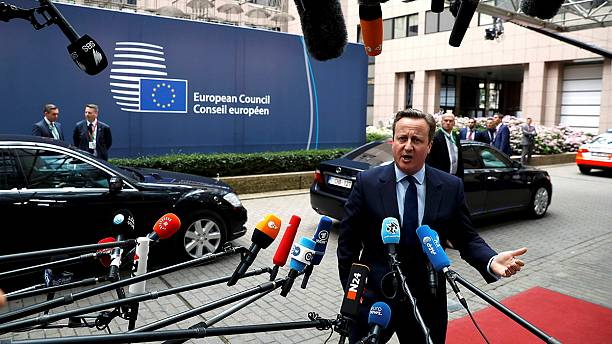 EU 27 meet in Brussels - and the UK is not invited