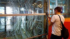 Video: Zerstörung am Istanbuler Atatürk-Flughafen nach den Anschlägen