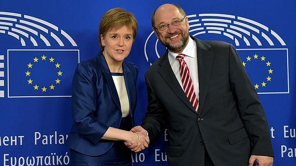 دیدار وزیر اول اسکاتلند با رهبران اتحادیه اروپا بر سر حفظ اسکاتلند در اتحادیه اروپا