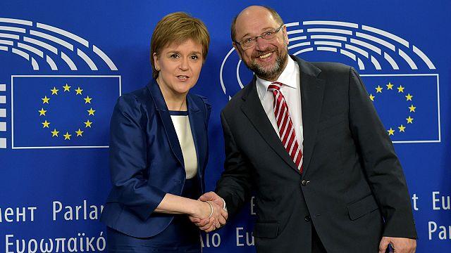 """Sturgeon: """"İskoçya'nın AB ile ilişkilerini koruma isteğini dile getirdim"""""""