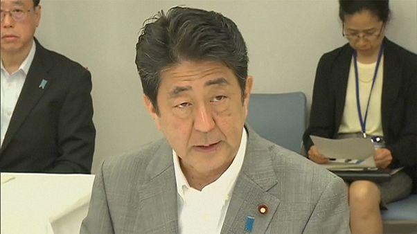 """Японский премьер призывает ЦБ принять меры против последствий """"брексита"""""""