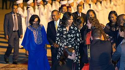 Michelle Obama ropes Moroccan girls into her 'Let Girl Learn' campaign