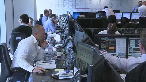 Bolsas europeias em alta
