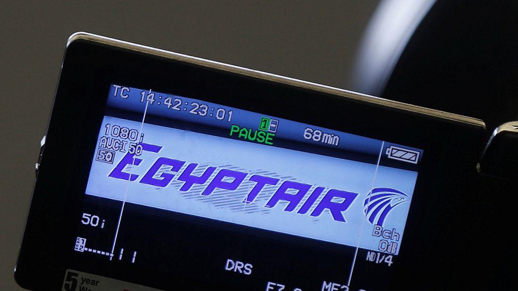 Mısır uçağı düşmeden önce duman sinyali vermiş