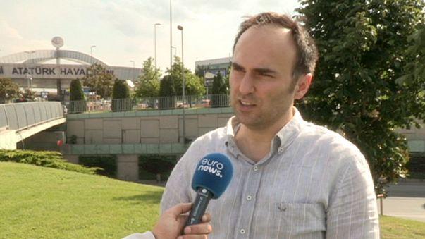 Gazeteci Gülel saldırı nedeniyle 5 saat bekletilen uçaktaki atmosferi anlattı