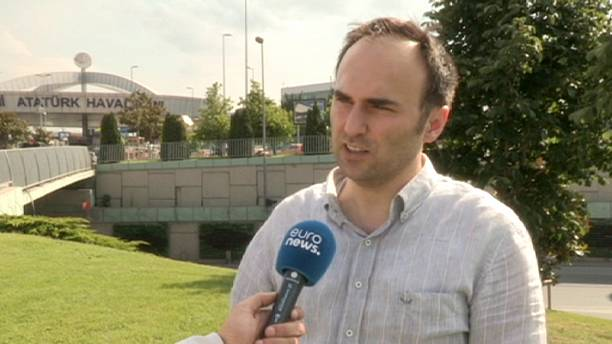Euronews reporter trapped on the tarmac as airport attack raged