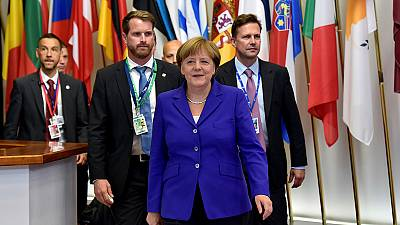 The EU's 27 leaders 'unite' as they view the future minus the UK