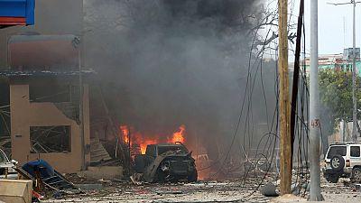 18 commuters killed by a roadside bomb in Somalia