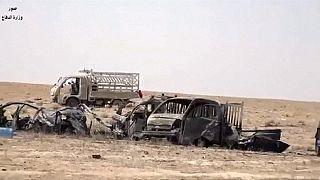 Irak: lebombázták az Iszlám Állam járműkonvoját