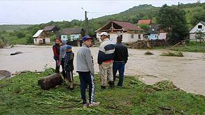 Flucht vor den Fluten: Rumänien kämpft mit Dauerregen