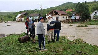 Наводнение в Румынии: погиб ребёнок