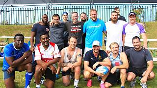 """""""Jozi Cats"""", première équipe homosexuelle de rugby"""