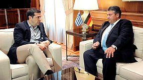 Συνάντηση Τσίπρα και Γκάμπριελ: «Πρέπει να υπάρξει νέα προσέγγιση για την Ευρώπη»