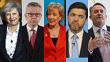 Cinco candidatos y dos favoritos para liderar el Partido Conservador y Gran Bretaña