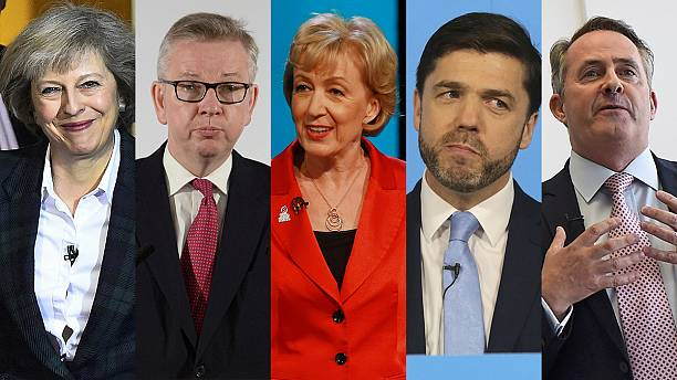 UK: who are the Famous Five candidates for PM?