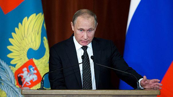 پوتین: ناتو به دنبال جنگ تسلیحاتی با روسیه است