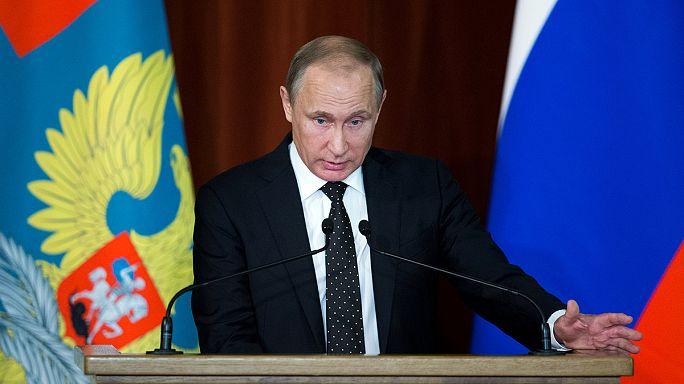 Putin: Scharfe Kritik an der Nato