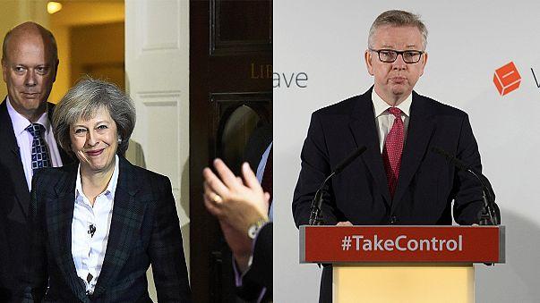 May e Gove, i favoriti nella corsa a primo ministro in UK
