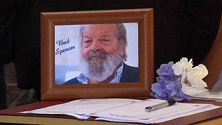 Último adiós al actor Bud Spencer fallecido el lunes