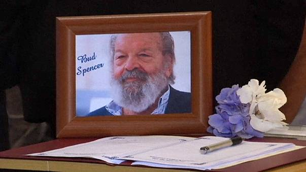Gentle giant Bud Spencer laid to rest in Rome