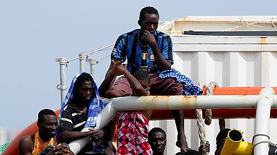 Ten women migrants die and 107 rescued by Italian coast guard