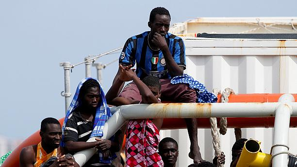 Ten women migrants die and 107 rescued by Italian coast guard