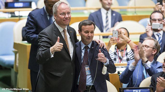 ايطاليا تفوز بمقعد غير دائم في مجلس الامن بعد اتفاق تقاسم عضوية مع هولندا