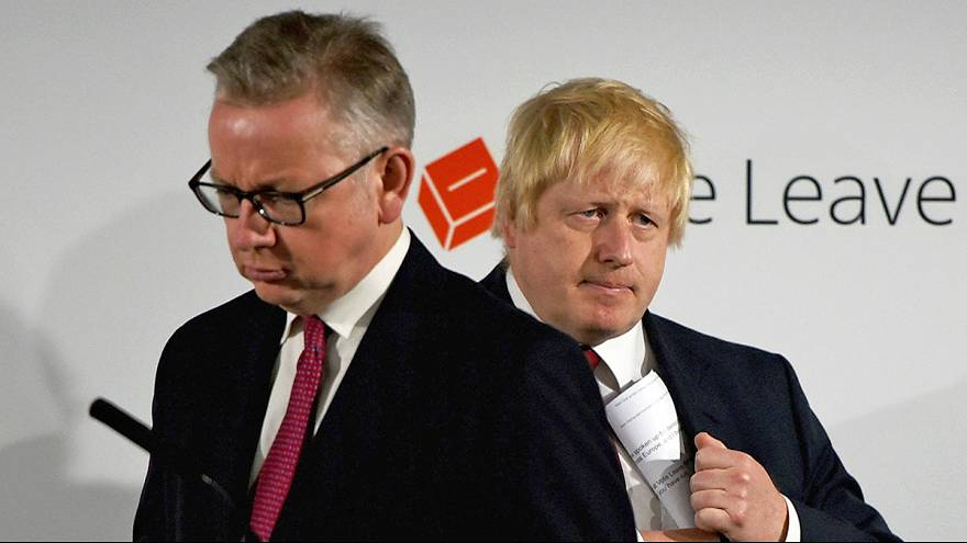 Critics round on Boris Johnson after Gove wields Brexit knife